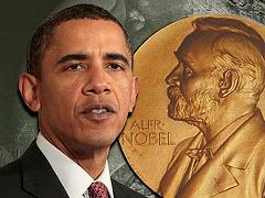 Obama wins nobel peace prize small