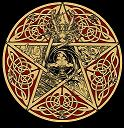 God Goddess Pentacle Small