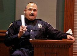 Testifying Cop