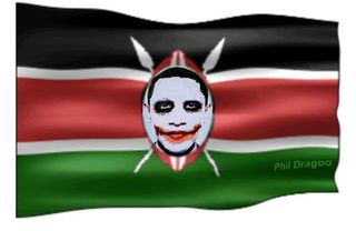 Obama Kenyan Flag